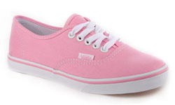 Pink Vans Authentic Lo Pro
